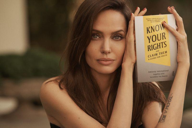 Angelina Jolie lanza otro libro sobre derechos de la infancia | Libros