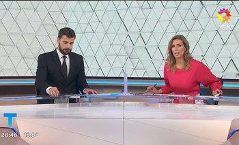 La tensión en El Trece en vivo entre Diego Leuco y Luciana Geuna | Televisión