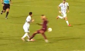 La criminal patada que recibió Lionel Messi: a un paso de la lesión | Eliminatorias 2022