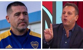 Riquelme humilló al Cholo Sottile en el programa de Vignolo | Fútbol