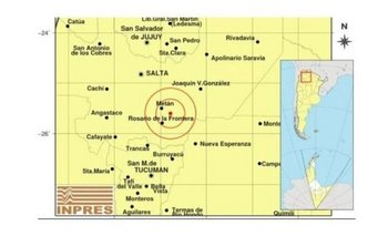 Un fuerte temblor causó pánico en Salta   Temblor