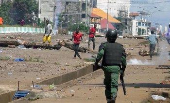 Unidad de élite del Ejército de Guinea derrocó al presidente  | Golpe de estado