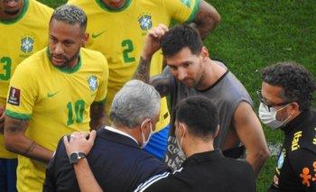 """Messi, indignado por el papelón en Brasil: """"¿Para qué nos hacen jugar?""""   Eliminatorias 2022"""
