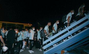 Papelón en Brasil: la Selección Argentina retornó tras el escándalo | Selección argentina