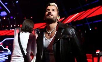 Papelón de Ricky en La Voz al olvidar el micrófono prendido | Televisión