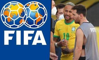 FIFA: el comunicado oficial tras la suspensión de Brasil - Argentina | Deportes