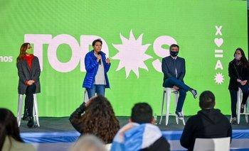 Con Máximo Kirchner y Mayra Mendoza, el FdT de Quilmes cerró la campaña | Elecciones 2021