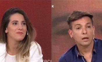 """Cinthia Fernández incomodó a Martín Bossi en vivo: """"¿Por qué no blanqueás?""""   Televisión"""