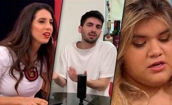 Cinthia Fernández y Morena Rial denunciaron al youtuber Matías Bottero   Televisión