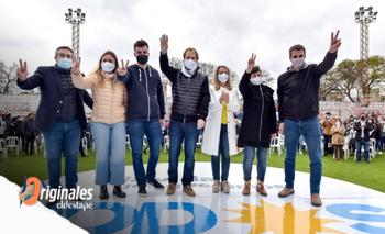 Con Bordet como protagonista, el Frente de Todos cerró la campaña en Entre Ríos | Elecciones 2021