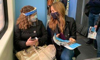 Tolosa Paz viajó en el tren Roca y le envió un mensaje a Juntos | Victoria tolosa paz