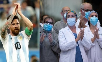 El desconocido gesto de la Selección con los trabajadores de la salud   Selección argentina