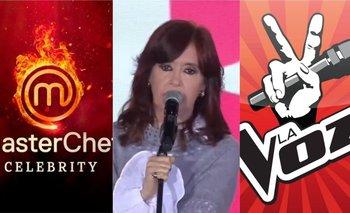 CFK habló de Masterchef y La Voz y destrozó a los programas políticos | Elecciones 2021