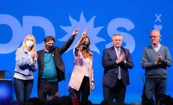 """Kicillof pidió el voto para el Frente de Todos """"para que renazca la Provincia""""   Elecciones 2021"""