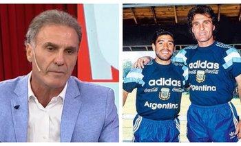 El desgarrador recuerdo del Cabezón Ruggeri sobre Maradona   Televisión
