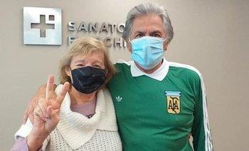 El Pato Fillol se recuperó del Covid y recibió el alta médica | Ubaldo matildo fillol