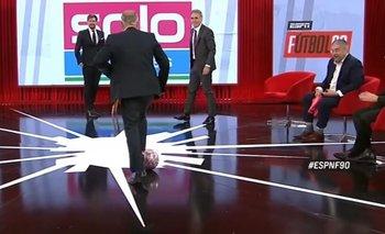 Casi rompen todo: el bochornoso picadito que jugaron en el programa de Vignolo | Televisión