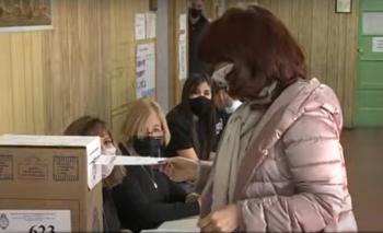 Votó Cristina Kirchner en Río Gallegos y volverá a Buenos Aires | Elecciones 2021