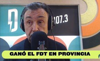 PASO 2021: El primer análisis de Roberto Navarro por el triunfo del FdT | Elecciones 2021