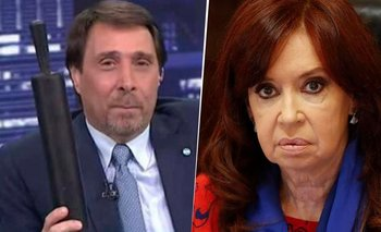 Papelón en vivo: Feinmann amenazó a Cristina después de las PASO | Televisión
