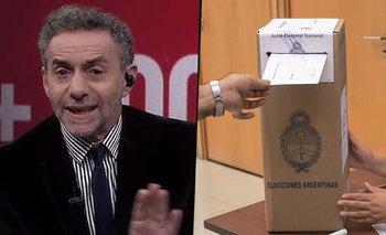 Elecciones 2021: Luis Majul denunció fraude antes de conocer los resultados | Elecciones 2021
