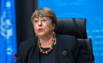 Bachelet, con críticas a Ortega y un reclamo para liberar a manifestantes detenidos | Derechos humanos