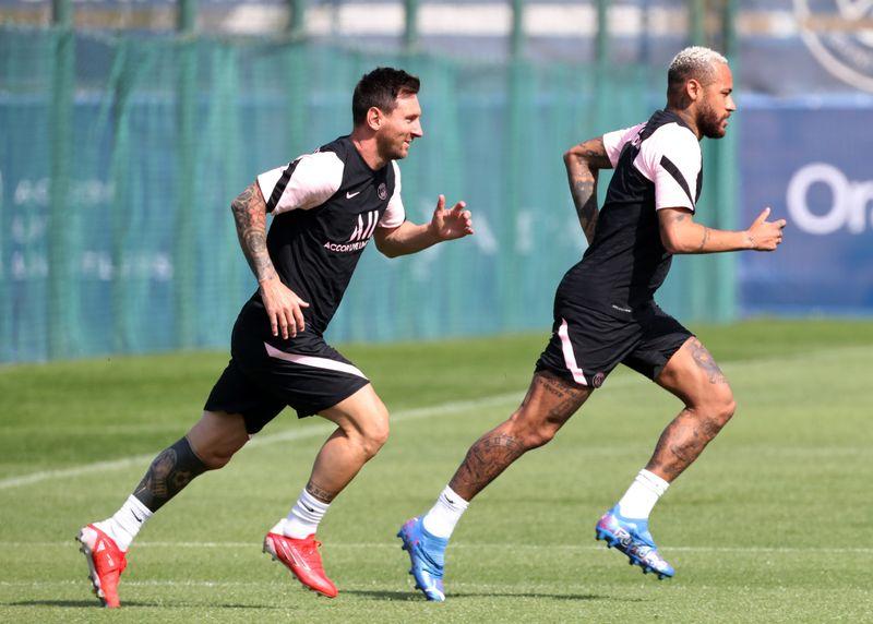 Messi se entrenó con normalidad y podría estar contra el City | Fútbol