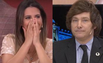 """Cinthia Fernández soñó con Javier Milei y sorprendió a todos: """"Me hace falta""""   Televisión"""