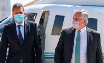Alberto se reunió con Massa: planes sociales, presupuesto y reactivación | Elecciones 2021