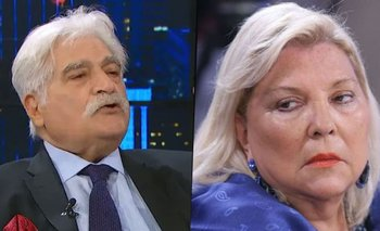 "Jorge Asís humilló a Carrió y la dejó en ridícula: ""Es una farsátira"" | Política"