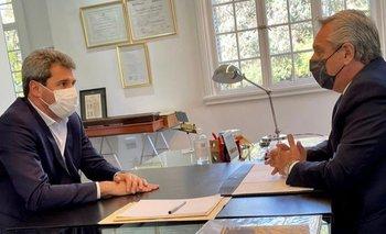Alberto Fernández se reunió con el gobernador de San Juan   Alberto fernández