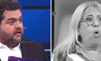 "Barassi se calentó e insultó a una participante en vivo: ""¡Puta madre!"" | Televisión"