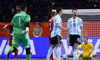 Mundial de Futsal: Argentina ganó y se metió en octavos de final | Futsal