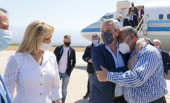 Alberto Fernández llegó a La Rioja para reunirse con gobernadores   Cambios de gabinete