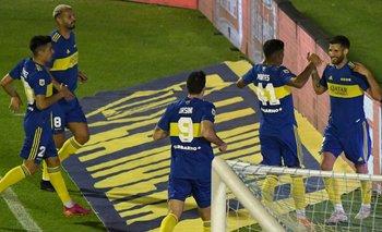 Liga Profesional: Boca se impuso en Tucumán y escaló posiciones | Liga profesional