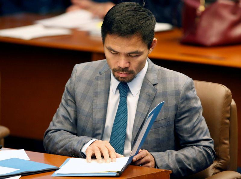 Pacquiao hace oficial su candidatura presidencial en Filipinas | Boxeo