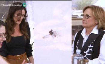 La mirada fulminante de Dolli Irigoyen a Paula Chaves en Bake Off | Televisión