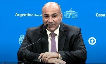 Manzur se suma a la delegación que mantiene reuniones con el FMI | Deuda