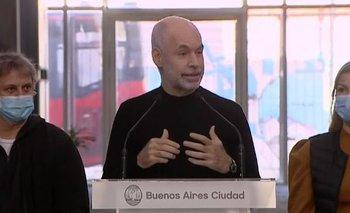 Pese al brote de COVID-19 en el ORT, Larreta dice que las escuelas no contagian | Coronavirus en argentina
