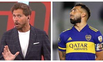 ESPN: El insólito reclamo del Pollo Vignolo a Carlos Tevez | Fútbol