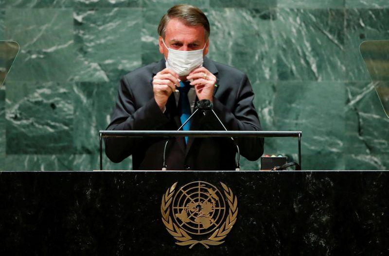 Bolsonaro se aísla en Brasil por el COVID-19 tras regresar de la ONU   Coronavirus
