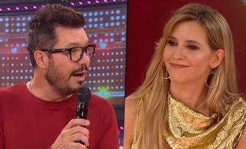 Tinelli descubrió un mensaje privado de Guillermina Valdés en vivo | Televisión