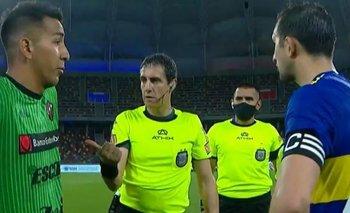 El tenso cruce entre Izquierdoz e Ibáñez en Boca vs. Patronato | Fútbol argentino