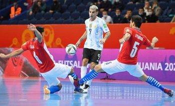 Mundial de Futsal: la Selección Argentina avanzó a cuartos    Futsal