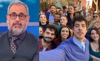 Jorge Rial fue lapidario con los actores de La 1-5/18   Televisión