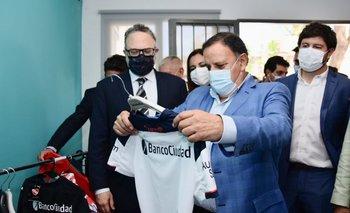 Quintela y Kulfas inauguran una nueva planta textil en La Rioja   La rioja