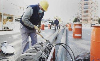 AySA realiza obras en Ciudad para mejorar la presión de agua | Aysa
