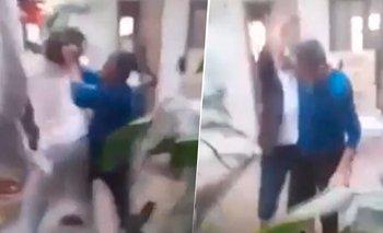 Un conocido periodista agredió a su hermana y fue filmado | Violencia de género