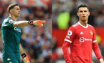 Descontrolado, Dibu Martínez se la pudrió a Cristiano Ronaldo | Premier league