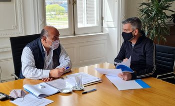 Manzur se reunió con Domínguez y Zabaleta | Casa rosada